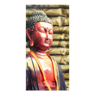 Asia Buddha Photo Greeting Card