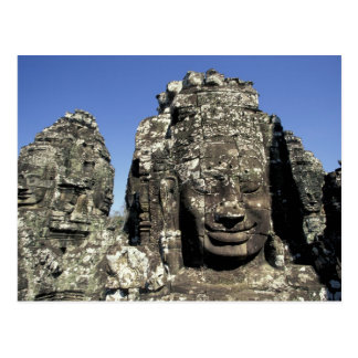 Asia, Cambodia, Siem Reap, Angkor Thom (b. Late Postcard