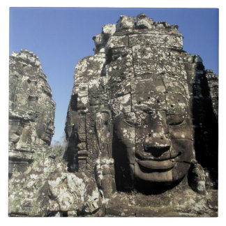 Asia, Cambodia, Siem Reap, Angkor Thom (b. Late Tile