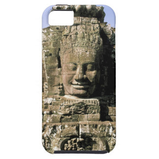 Asia, Cambodia, Siem Reap. Angkor Thom, heads of Case For The iPhone 5