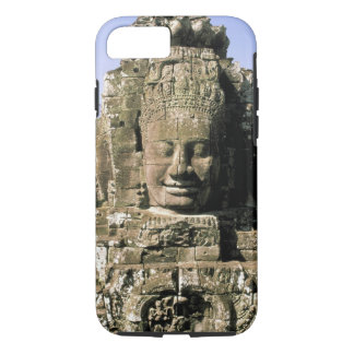 Asia, Cambodia, Siem Reap. Angkor Thom, heads of iPhone 8/7 Case