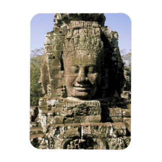 Asia, Cambodia, Siem Reap. Angkor Thom, heads of Magnet
