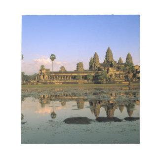 Asia, Cambodia, Siem Reap. Angkor Wat. 2 Notepad