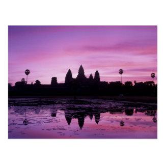 Asia, Cambodia, Siem Reap, Angkor Wat (b. 12th 2 Postcards