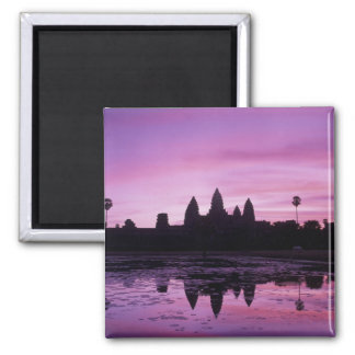 Asia, Cambodia, Siem Reap, Angkor Wat (b. 12th 2 Square Magnet