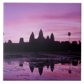 Asia, Cambodia, Siem Reap, Angkor Wat (b. 12th 2 Tile