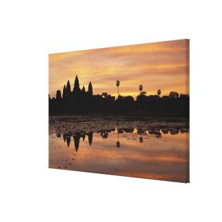 Asia, Cambodia, Siem Reap, Angkor Wat (b. 12th Canvas Print