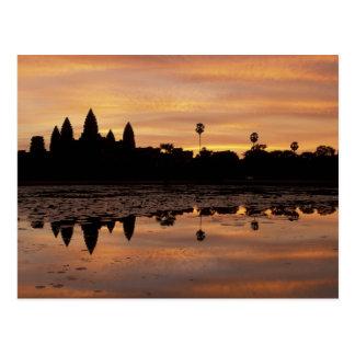Asia, Cambodia, Siem Reap, Angkor Wat (b. 12th Postcard