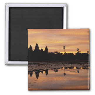 Asia, Cambodia, Siem Reap, Angkor Wat (b. 12th Square Magnet