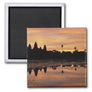 Asia, Cambodia, Siem Reap, Angkor Wat (b. 12th Square Magnet