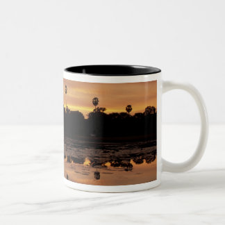 Asia, Cambodia, Siem Reap, Angkor Wat (b. 12th Two-Tone Coffee Mug