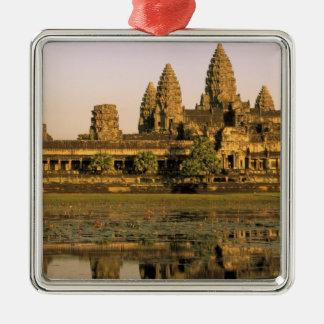 Asia, Cambodia, Siem Reap. Angkor Wat. Christmas Ornament