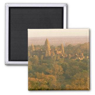 Asia, Cambodia, Siem Reap. Angkor Wat. Fridge Magnet