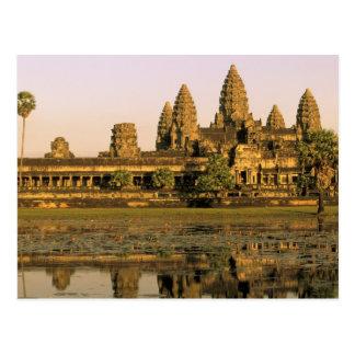 Asia Cambodia Siem Reap Angkor Wat Post Card
