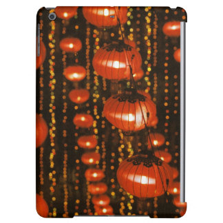 Asia, China, Beijing. Red Chinese lanterns, Cover For iPad Air
