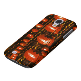 Asia, China, Beijing. Red Chinese lanterns, Galaxy S4 Case