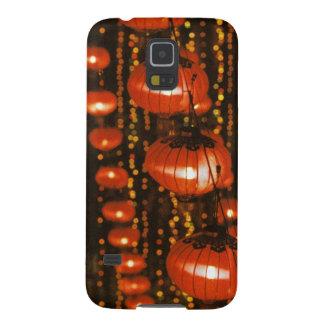 Asia, China, Beijing. Red Chinese lanterns, Galaxy S5 Case