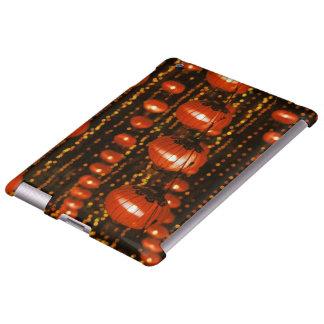 Asia, China, Beijing. Red Chinese lanterns, iPad Case