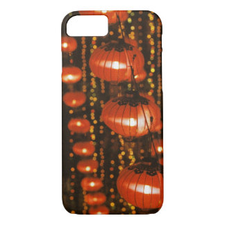 Asia, China, Beijing. Red Chinese lanterns, iPhone 8/7 Case
