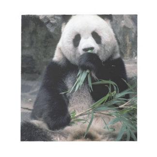 Asia, China, Chundu, Giant panda Notepad