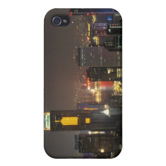Asia, China, Hong Kong, central from Stubbs road iPhone 4/4S Case