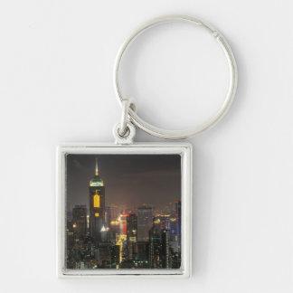 Asia, China, Hong Kong, central from Stubbs road Key Ring