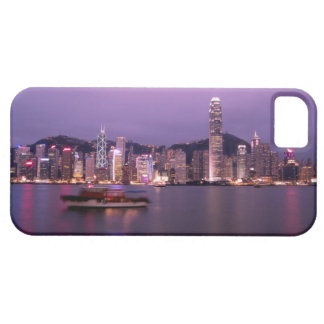 Asia, China, Hong Kong, city skyline and Barely There iPhone 5 Case