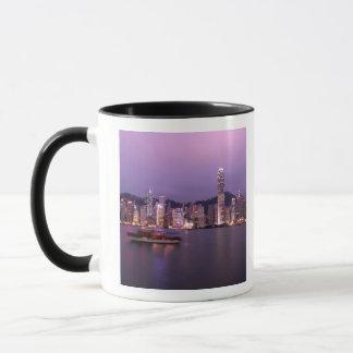 Asia, China, Hong Kong, city skyline and Mug
