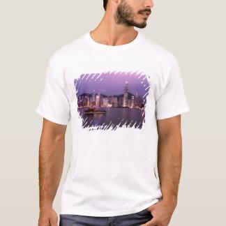 Asia, China, Hong Kong, city skyline and T-Shirt