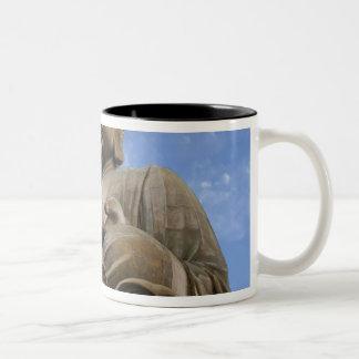 Asia, China, Hong Kong, Lantau Island, Ngong Two-Tone Coffee Mug