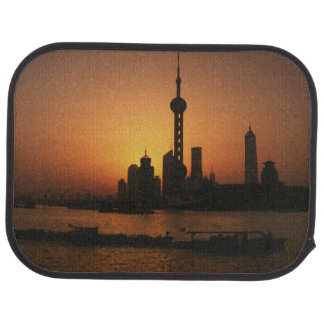 ASIA, China, Shanghai View of Oriental Pearl TV Car Mat
