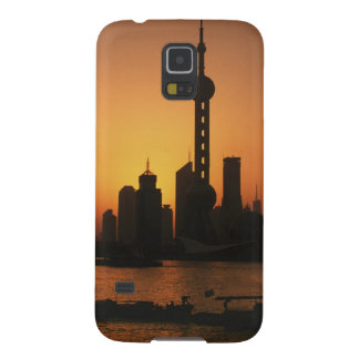 ASIA, China, Shanghai View of Oriental Pearl TV Case For Galaxy S5