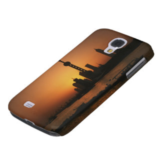 ASIA, China, Shanghai View of Oriental Pearl TV Galaxy S4 Case