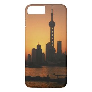ASIA, China, Shanghai View of Oriental Pearl TV iPhone 8 Plus/7 Plus Case