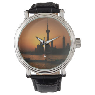 ASIA, China, Shanghai View of Oriental Pearl TV Watches