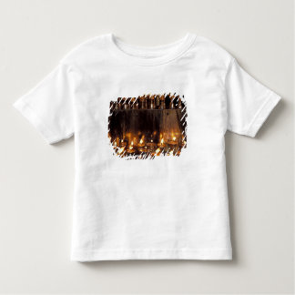 Asia, China, Tibet, Lhasa. Prayer flames, Toddler T-Shirt