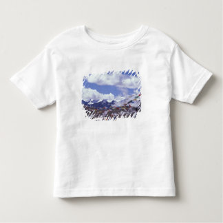 Asia, China, Tibet, Tangla Pass. Prayer flags, Toddler T-Shirt