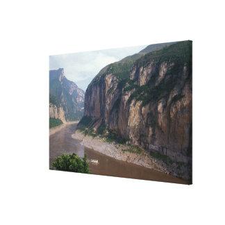 Asia, China, Yangtze River, Three Gorges. Canvas Print