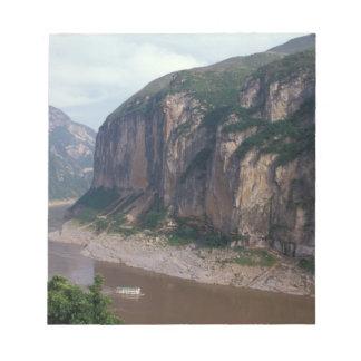 Asia, China, Yangtze River, Three Gorges. Notepad