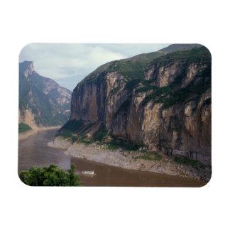 Asia, China, Yangtze River, Three Gorges. Rectangular Photo Magnet