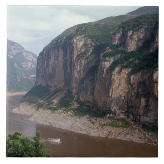 Asia, China, Yangtze River, Three Gorges. Tile