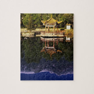 Asia, China, Yunnan, Dali. Cangshan Mountains Jigsaw Puzzle