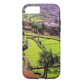 Asia, China, Yunnan, Honghe.  Rice terraces near 2 iPhone 8/7 Case
