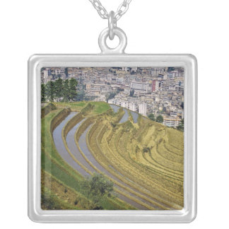 Asia, China, Yunnan Province, Jinping. Jinping Silver Plated Necklace