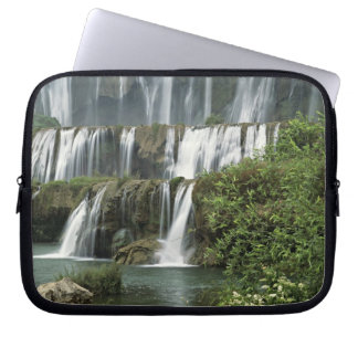 Asia, China, Yunnan Province, Qujing, Luoping Laptop Sleeve