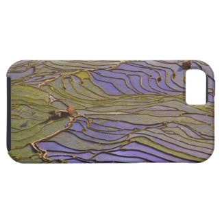 Asia, China, Yunnan Province, Yuanyang. Flooded Case For The iPhone 5