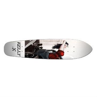 Asia D.//KELLY.X Custom Skate Board
