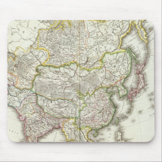 Asia Engraved Map Mouse Mat