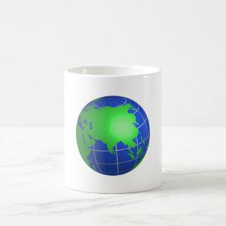 Asia Globe Coffee Mug