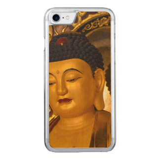Asia Golden Buddha Carved iPhone 7 Case